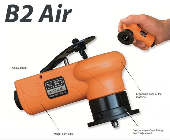 Beveling and deburring system B2 AIR